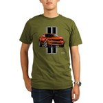 New Camaro Red Organic Men's T-Shirt (dark)