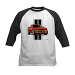 New Camaro Red Kids Baseball Jersey