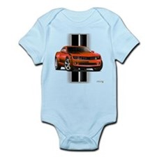 New Camaro Red Infant Bodysuit