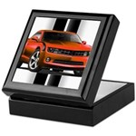 New Camaro Red Keepsake Box