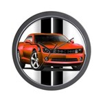 New Camaro Red Wall Clock