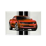 New Camaro Red Rectangle Magnet (100 pack)