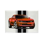 New Camaro Red Rectangle Magnet (10 pack)