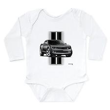 New Camaro Gray Long Sleeve Infant Bodysuit
