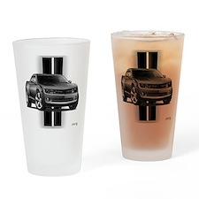 New Camaro Gray Drinking Glass