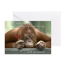 I Miss You Greeting Cards (Pk of 20)