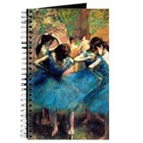 Degas - Blue Dancers 1893 Journal