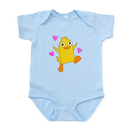 Ducks Need Hugs Too Infant Bodysuit