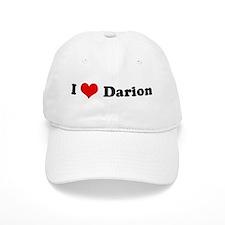 I Love Darion Baseball Cap
