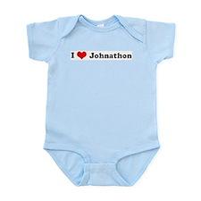 I Love Johnathon Infant Creeper