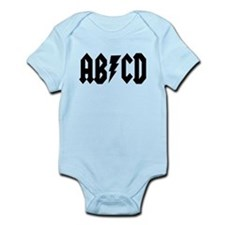 ABCD Rock N Roll Infant Bodysuit