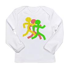 iRun Long Sleeve Infant T-Shirt