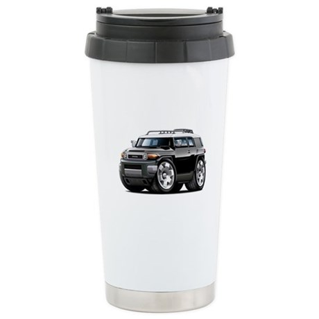 FJ Cruiser Black Car Ceramic Travel Mug