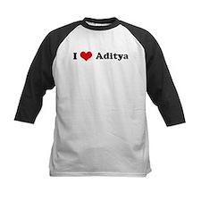 I Love Aditya Tee