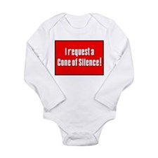 Cone of Silence Get Smart Long Sleeve Infant Bodys