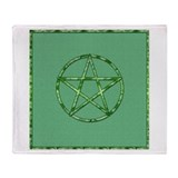 Cute Pentagram Throw Blanket