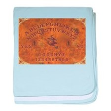 Ouija Board Witchy baby blanket