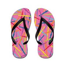Colorful Oboes Flip Flops