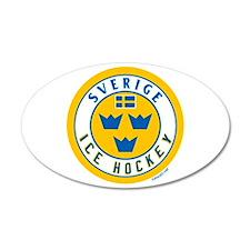SE Sweden/Sverige Hockey Wall Decal