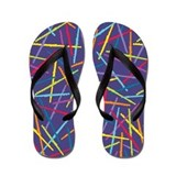 Colorful Flutes Flip Flops