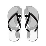 Elephant Design Flip Flops