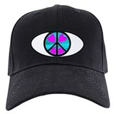 Peace Symbol with Heart™ Baseball Hat