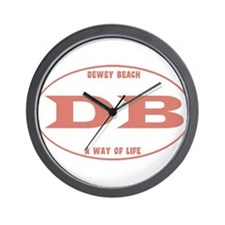 Dewey Beach Wall Clock