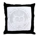 Monster rebel buck Suede Pillow