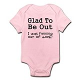 Running Out of Womb Onesie