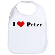I Love Peter Bib