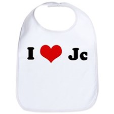 I Love Jc Bib