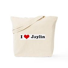 I Love Jaylin Tote Bag