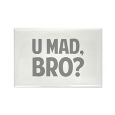 U Mad, Bro? Rectangle Magnet (10 pack)