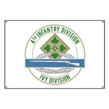 4th Infantry CIB Banner
