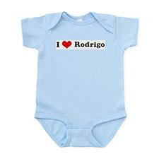 I Love Rodrigo Infant Creeper