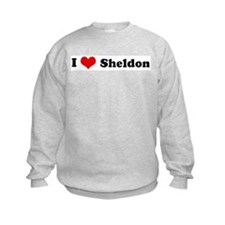 I Love Sheldon Sweatshirt