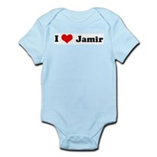 I Love Jamir Infant Creeper
