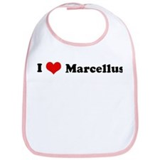 I Love Marcellus Bib