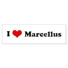 I Love Marcellus Bumper Bumper Sticker