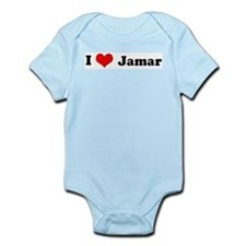 I Love Jamar Infant Creeper