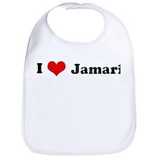 I Love Jamari Bib