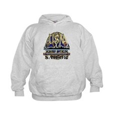 US Navy Tin Can Sailor USN Hoodie