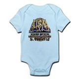 US Navy Tin Can Sailor USN Infant Bodysuit