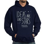 Ideas are like Stars Hoodie (dark)