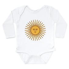 Sol de Mayo Long Sleeve Infant Bodysuit