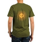 Sol de Mayo Organic Men's T-Shirt (dark)