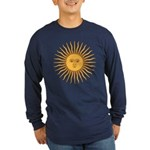 Sol de Mayo Long Sleeve Dark T-Shirt