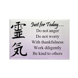 Reiki Principles Magnet (10 pack)