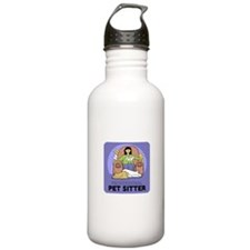 Professional Pet Sitter Water Bottle