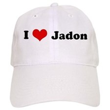 I Love Jadon Baseball Cap